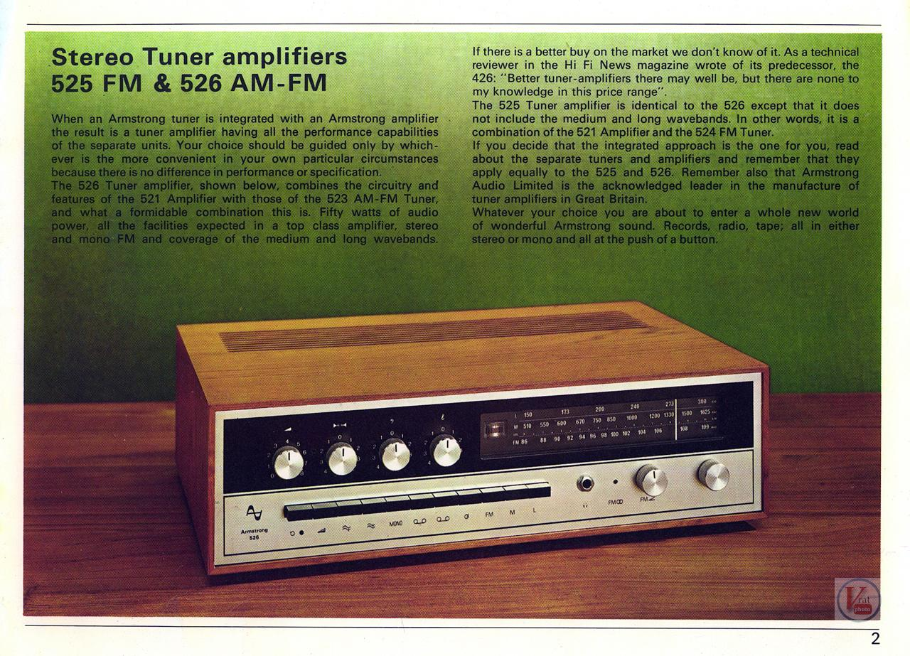 Armstrong 500 Amp/receiver 21