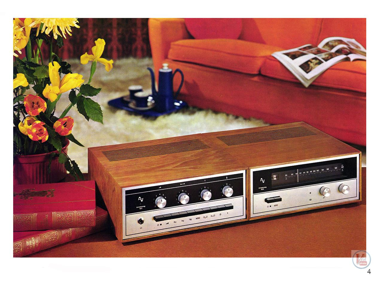 Armstrong 500 Amp/receiver 5