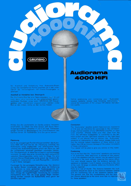 Grundig Hifi Box/AudioRama 11