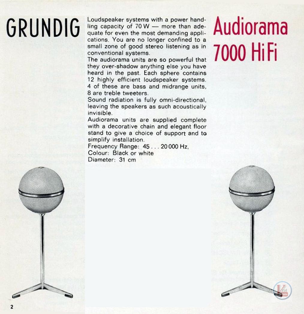Grundig Hifi Box/AudioRama 16