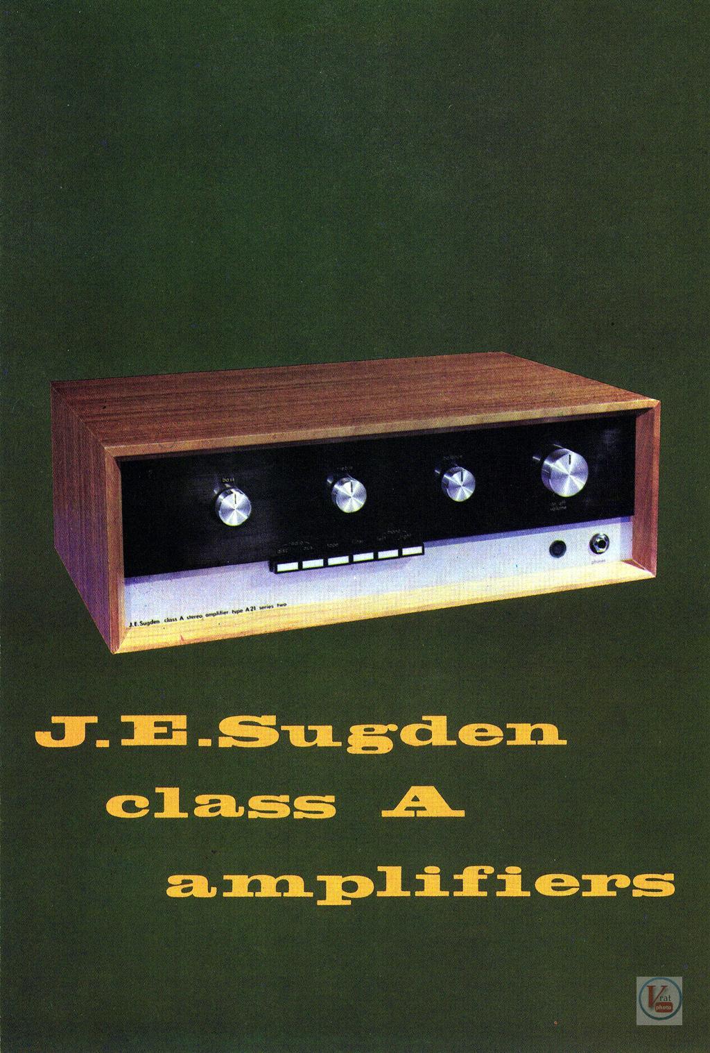 J.E.Sugden  Amplifiers 46