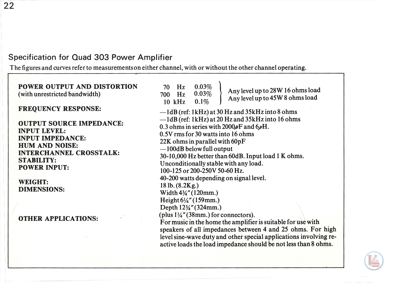 Quad 33-303 98