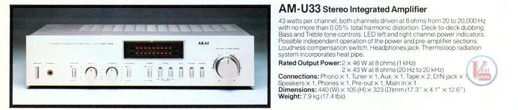 AKAI Amplifiers 26