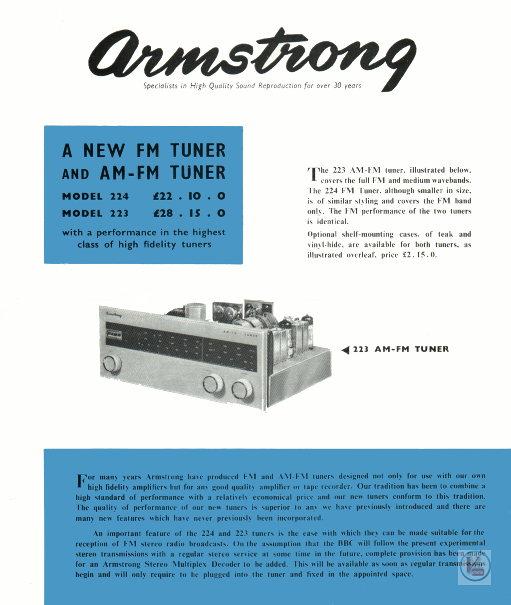 Armstrong 223/224 1