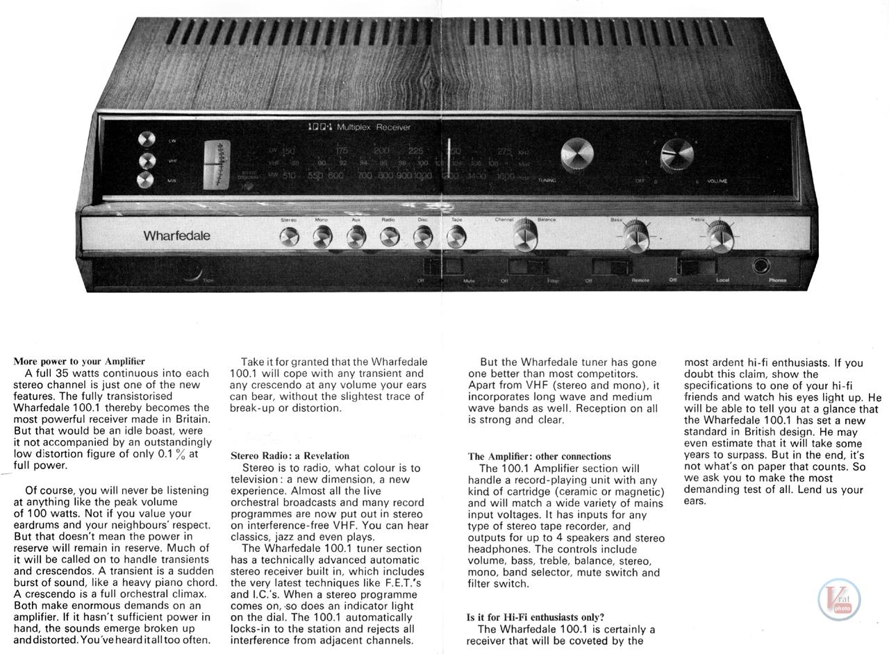 Wharfedale Amp/Receiver 3