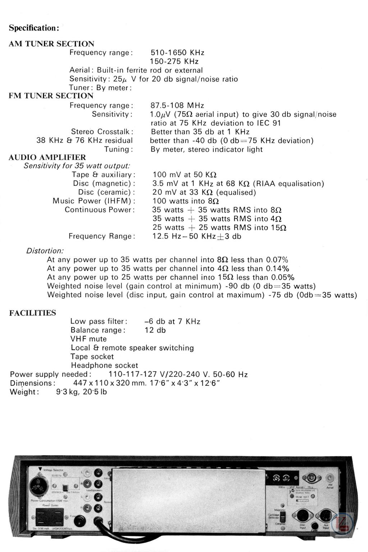 Wharfedale Amp/Receiver 4