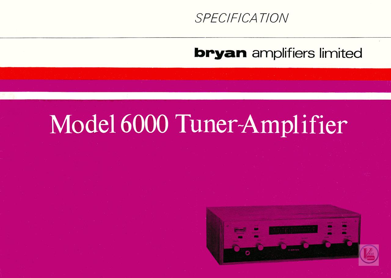 Bryan Amp/Tuner 34