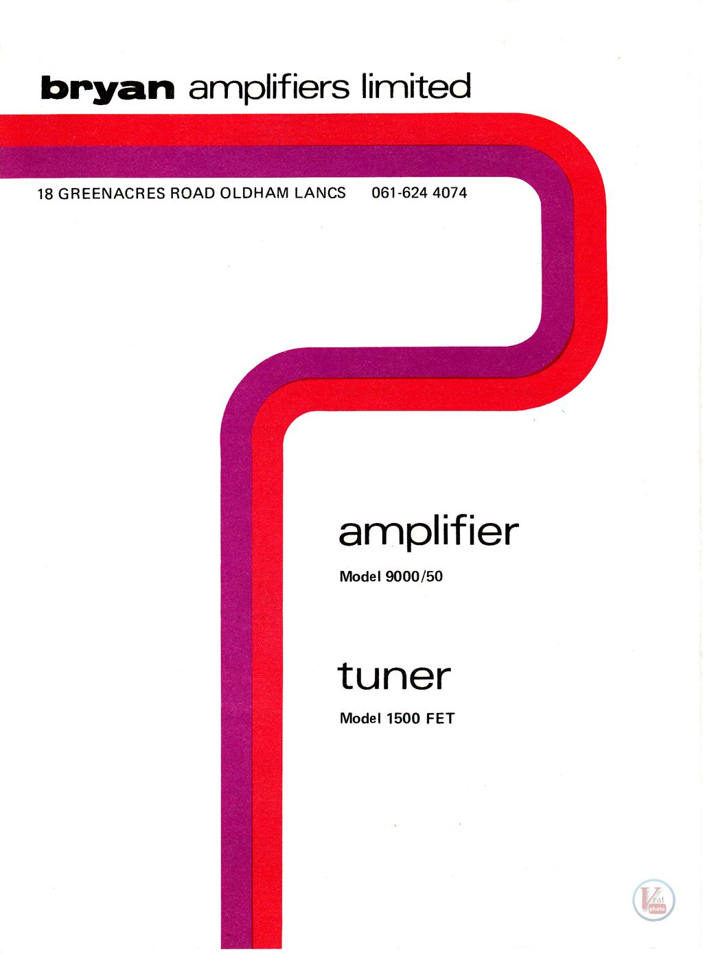 Bryan Amp/Tuner 37