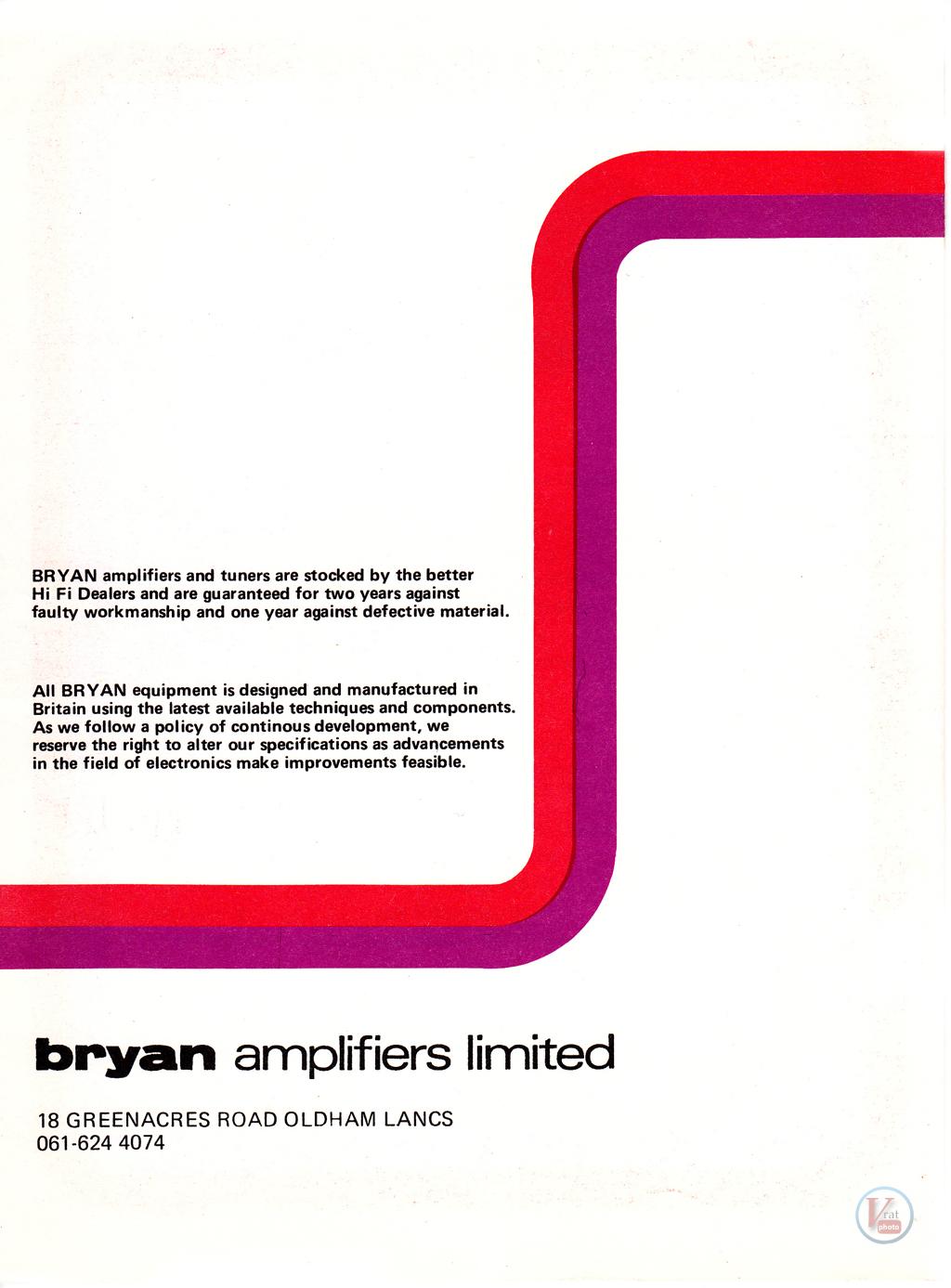 Bryan Amp/Tuner 44