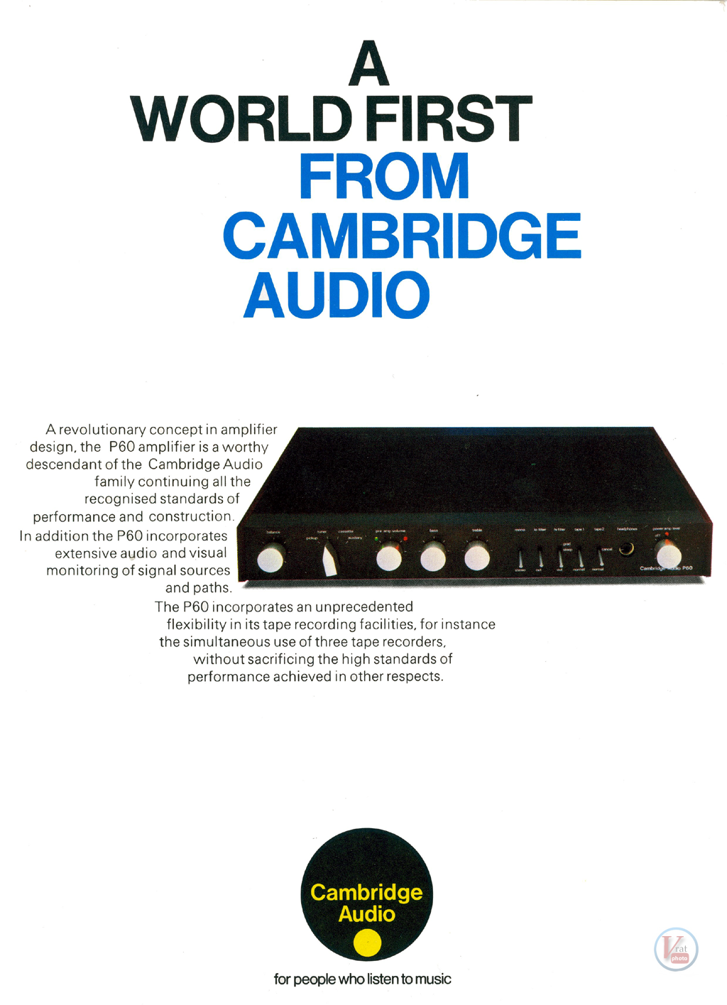 Cambridge Audio P60 9