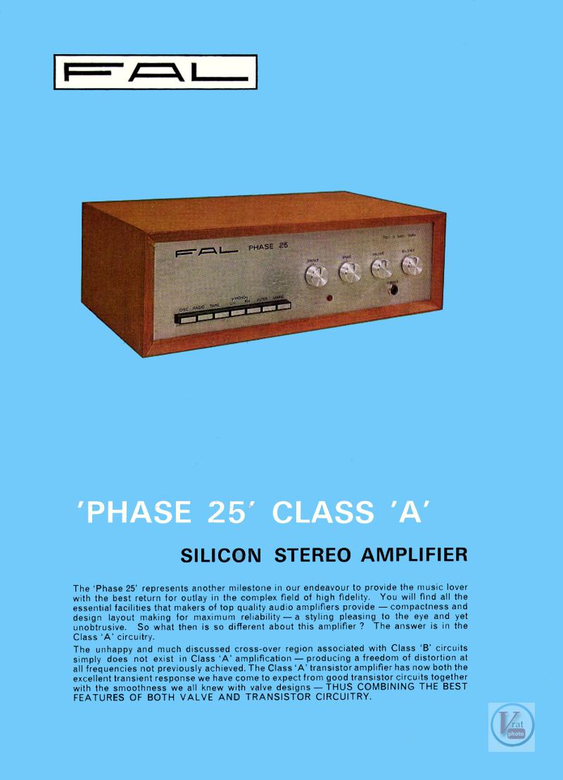FAL Amplifiers 9