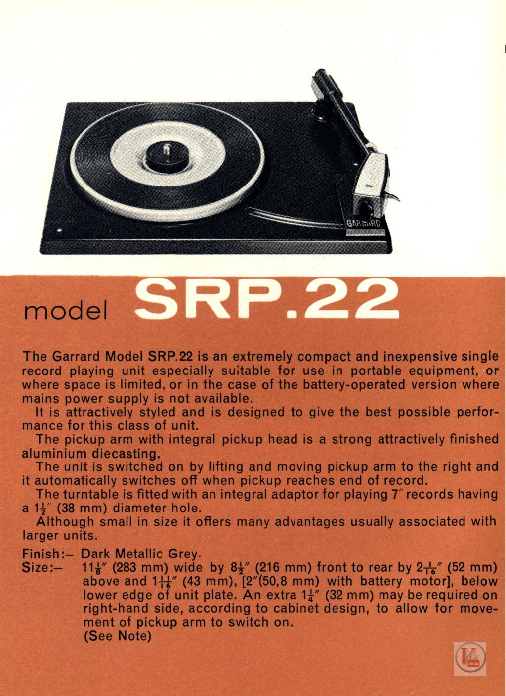 Garrard-401 Turntable 60