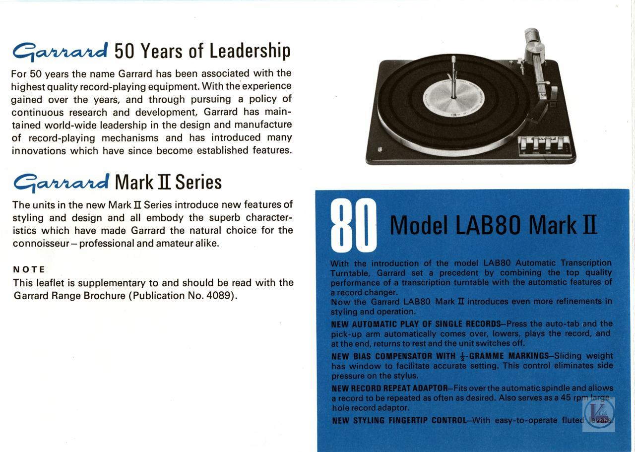 Garrard-301 Turntable 20