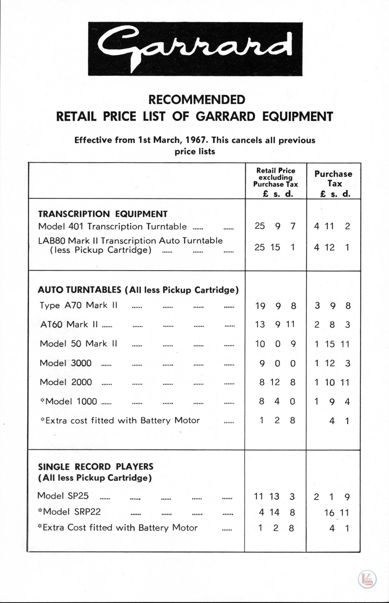 Garrard-301 Turntable 17