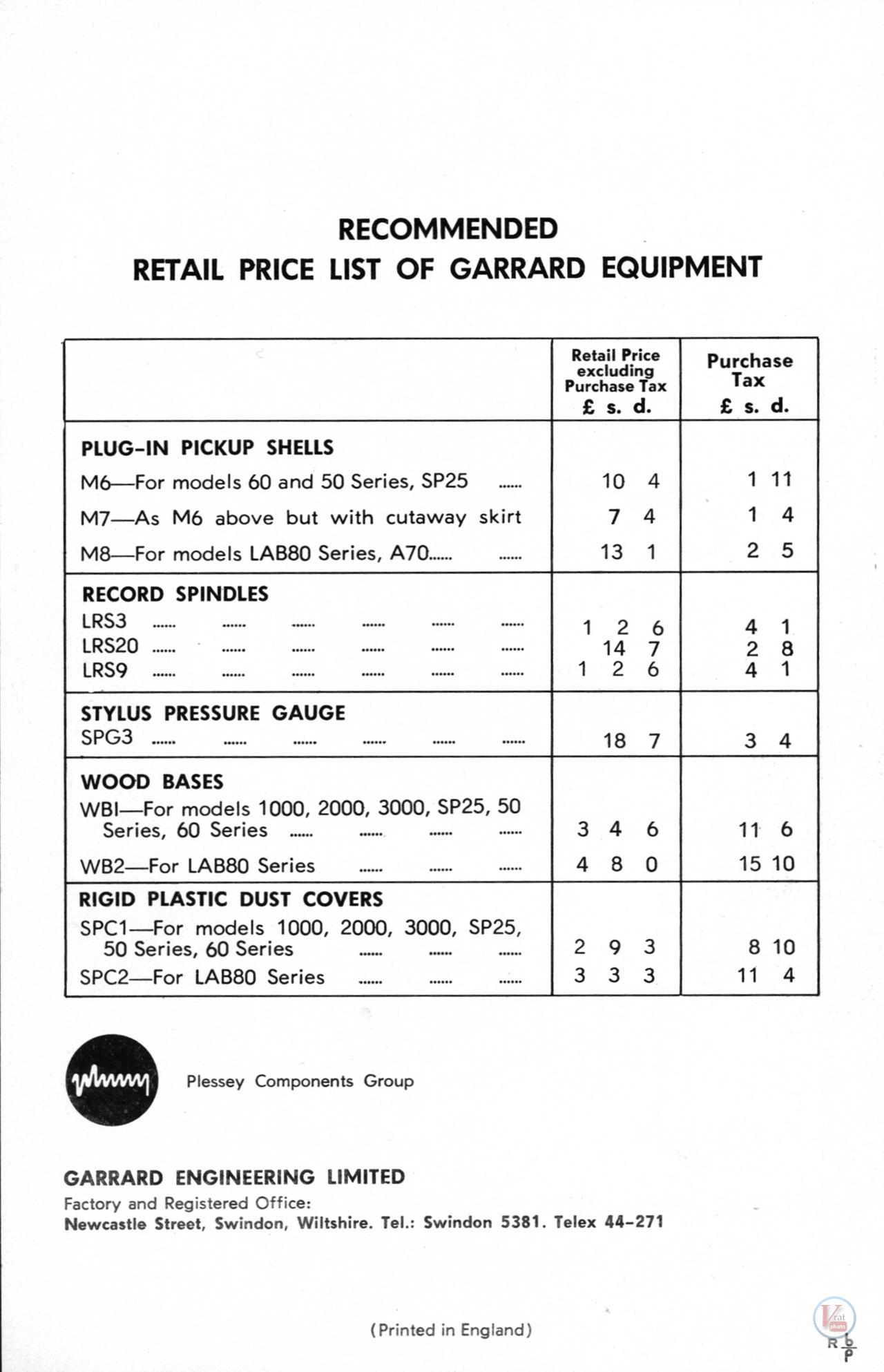 Garrard-301 Turntable 24