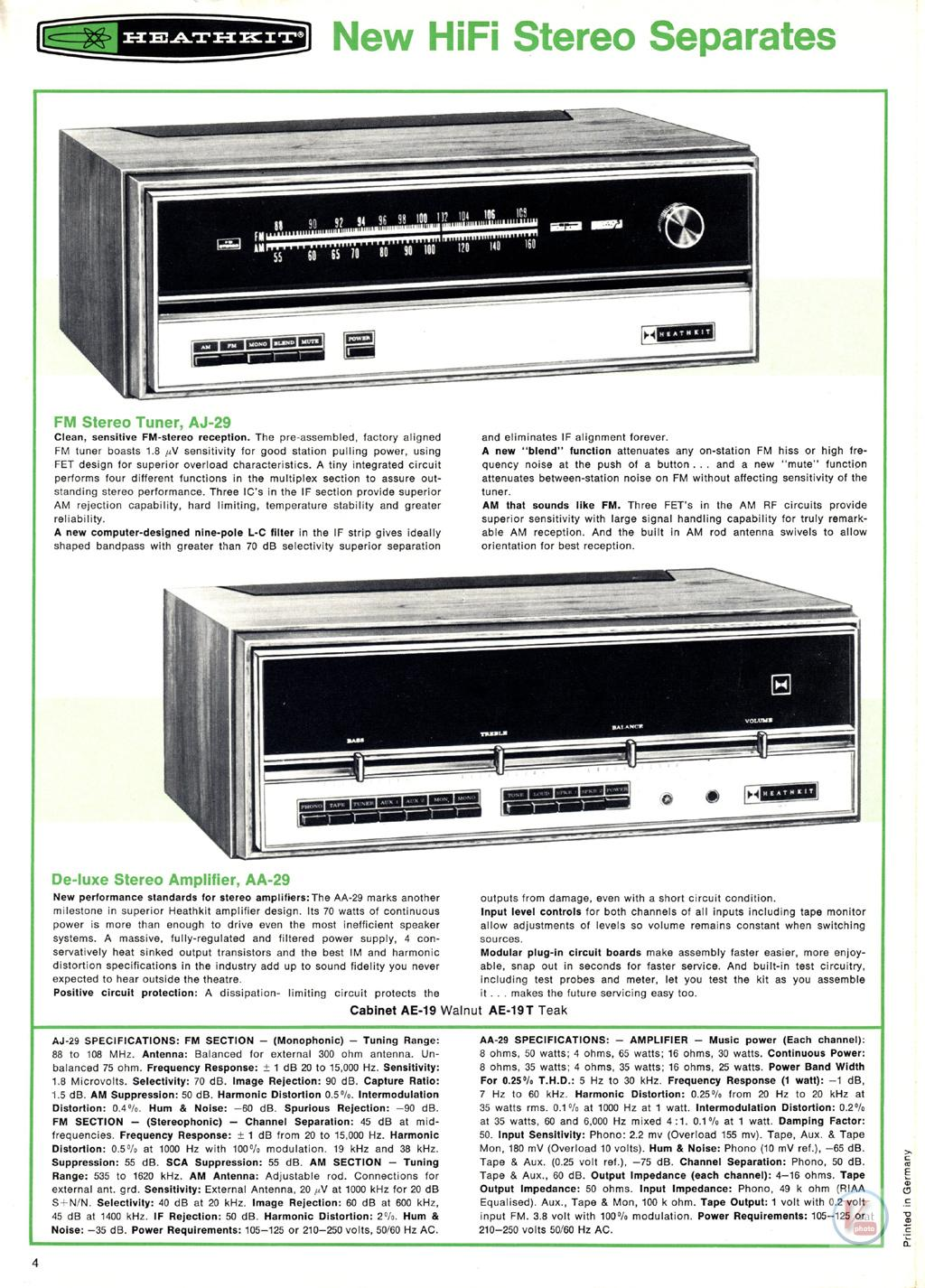 Heathkit Receiver Amplifier 24