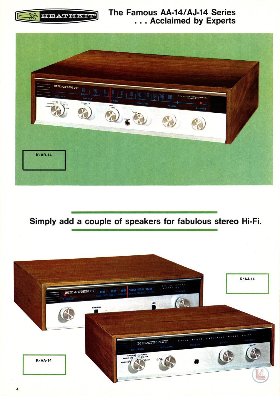 Heathkit Receiver Amplifier 26