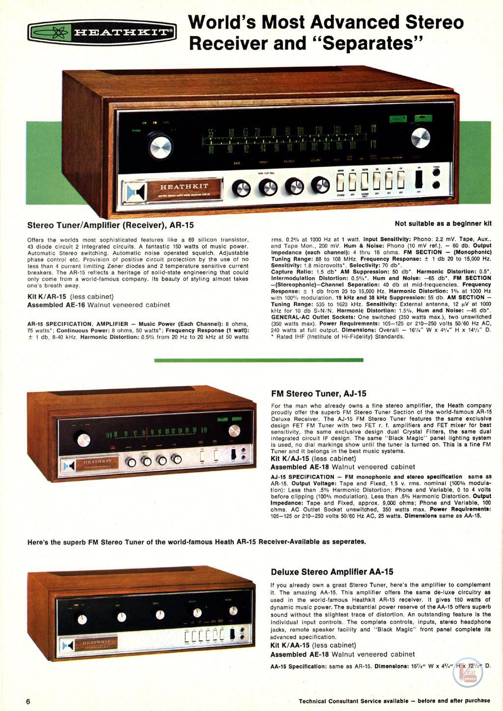 Heathkit Receiver Amplifier 27
