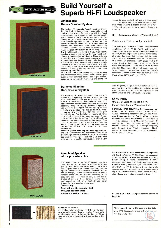 Heathkit Speakers 6