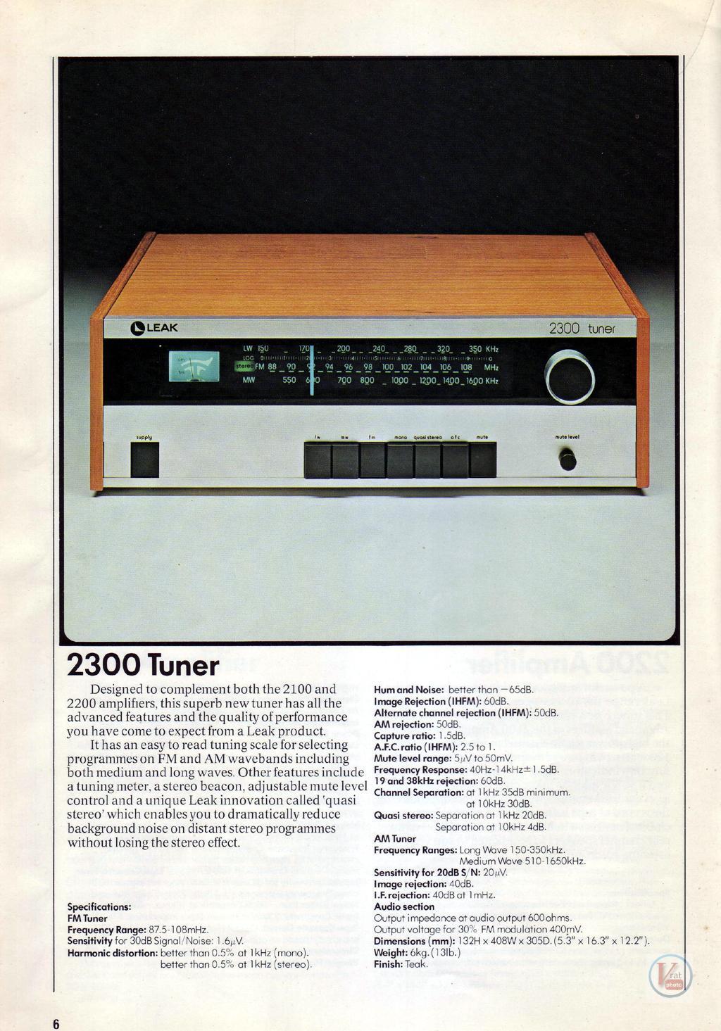 Leak Amplifiers 14