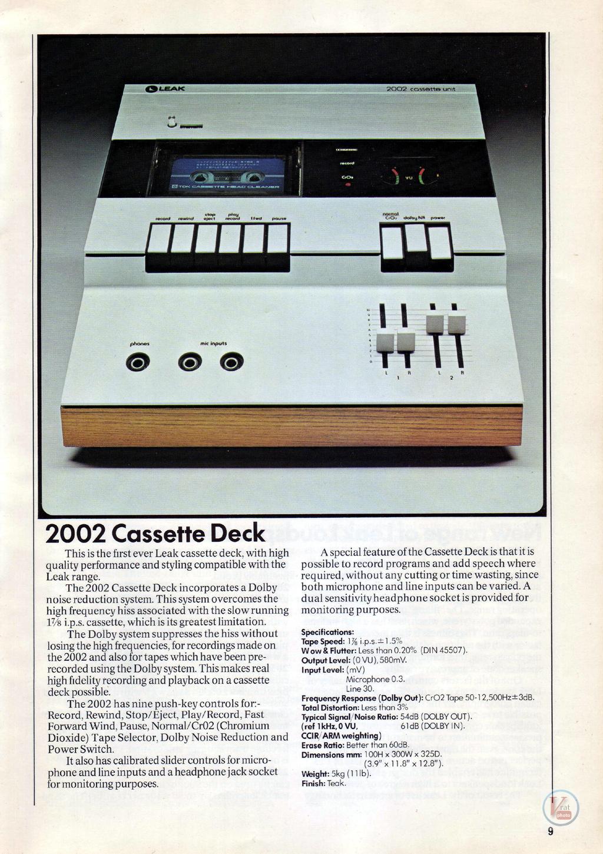 Leak Cassette 2
