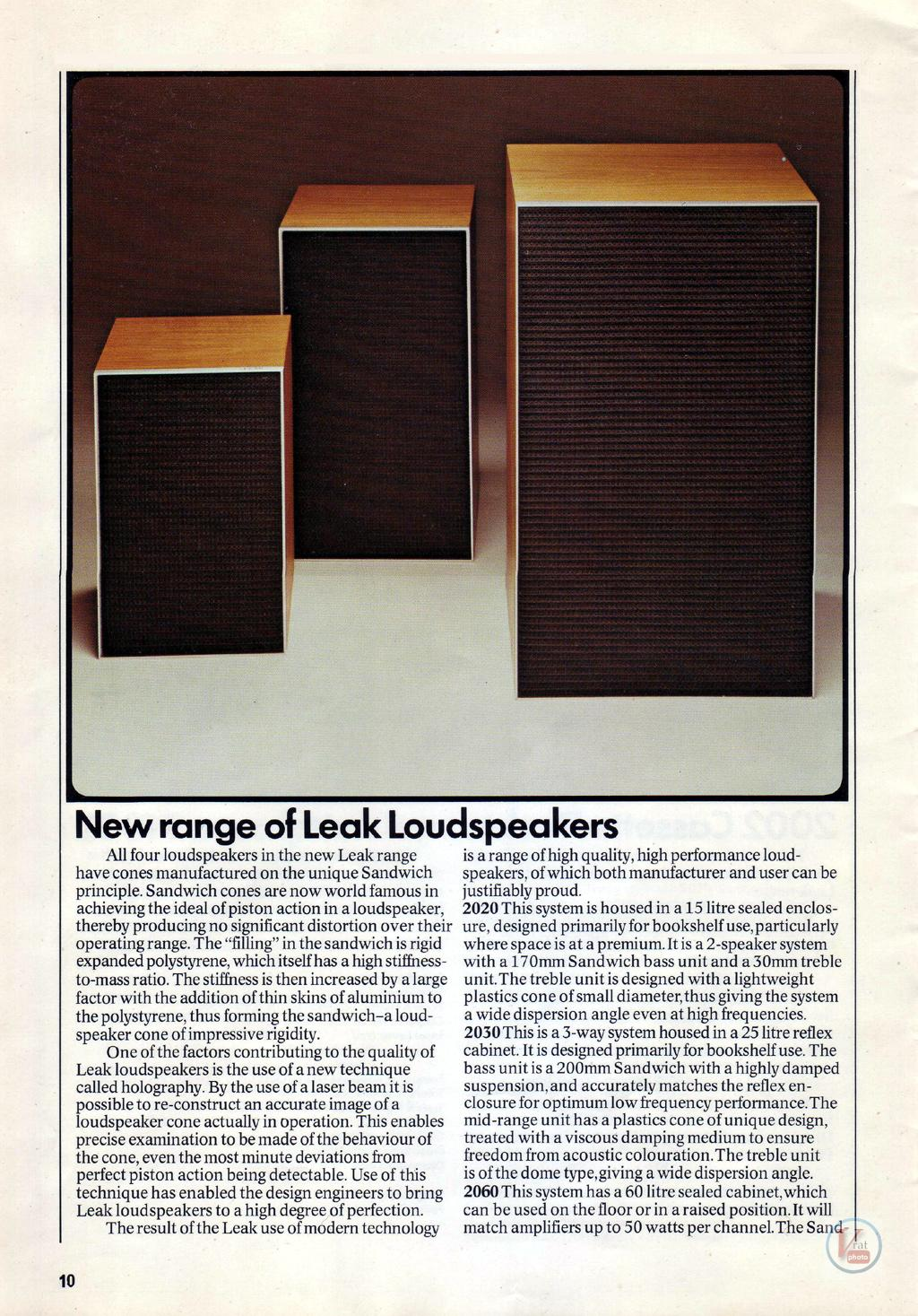 Leak Speakers 2