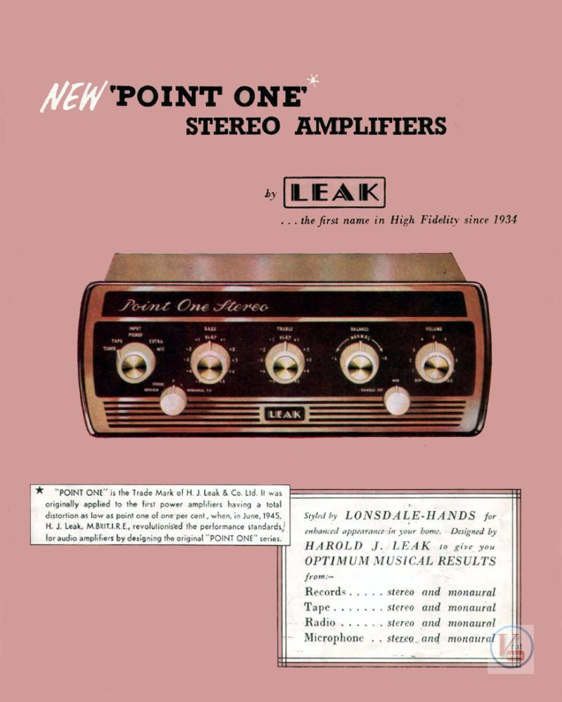 Leak Amplifiers 1
