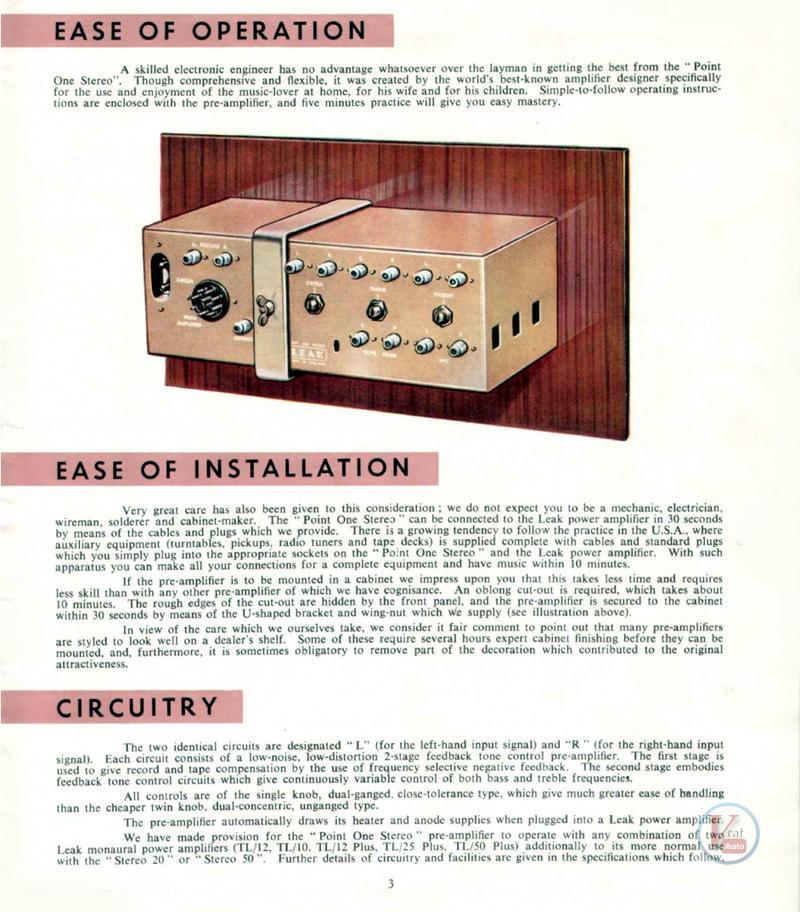 Leak Amplifiers 3