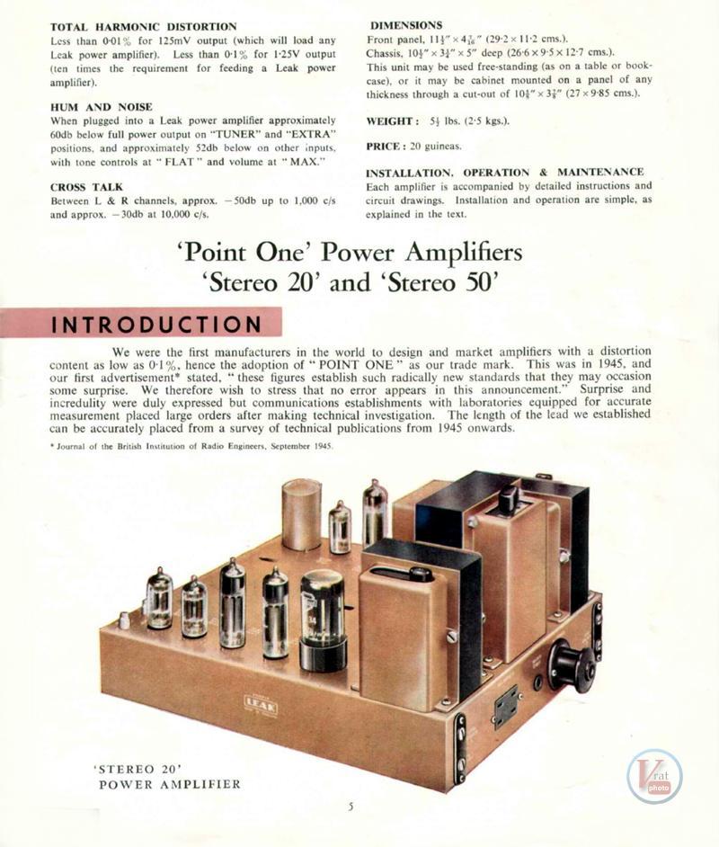Leak Amplifiers 5