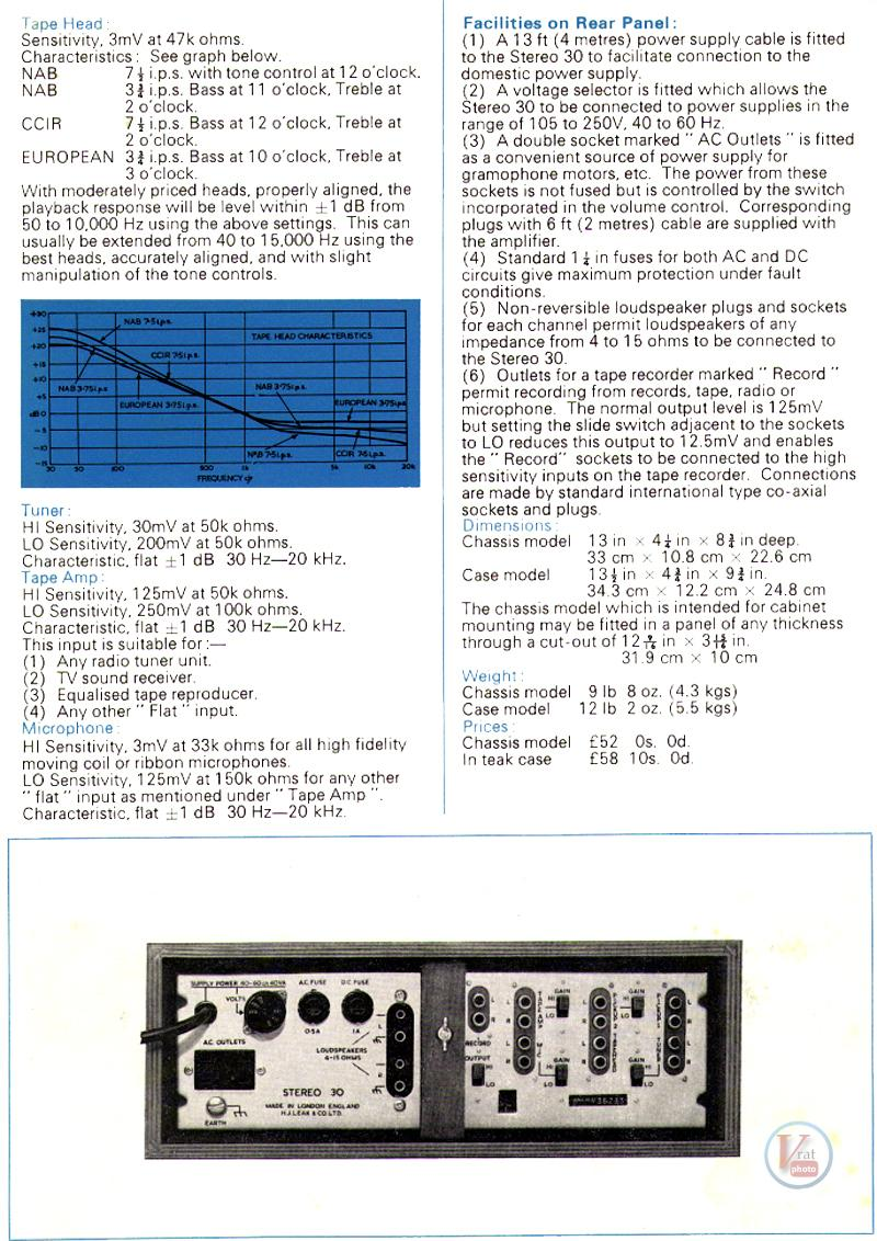 Leak Amplifiers 10