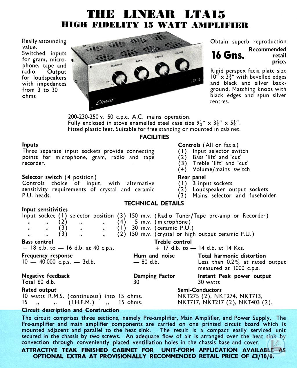 Linear Amplifiers 33