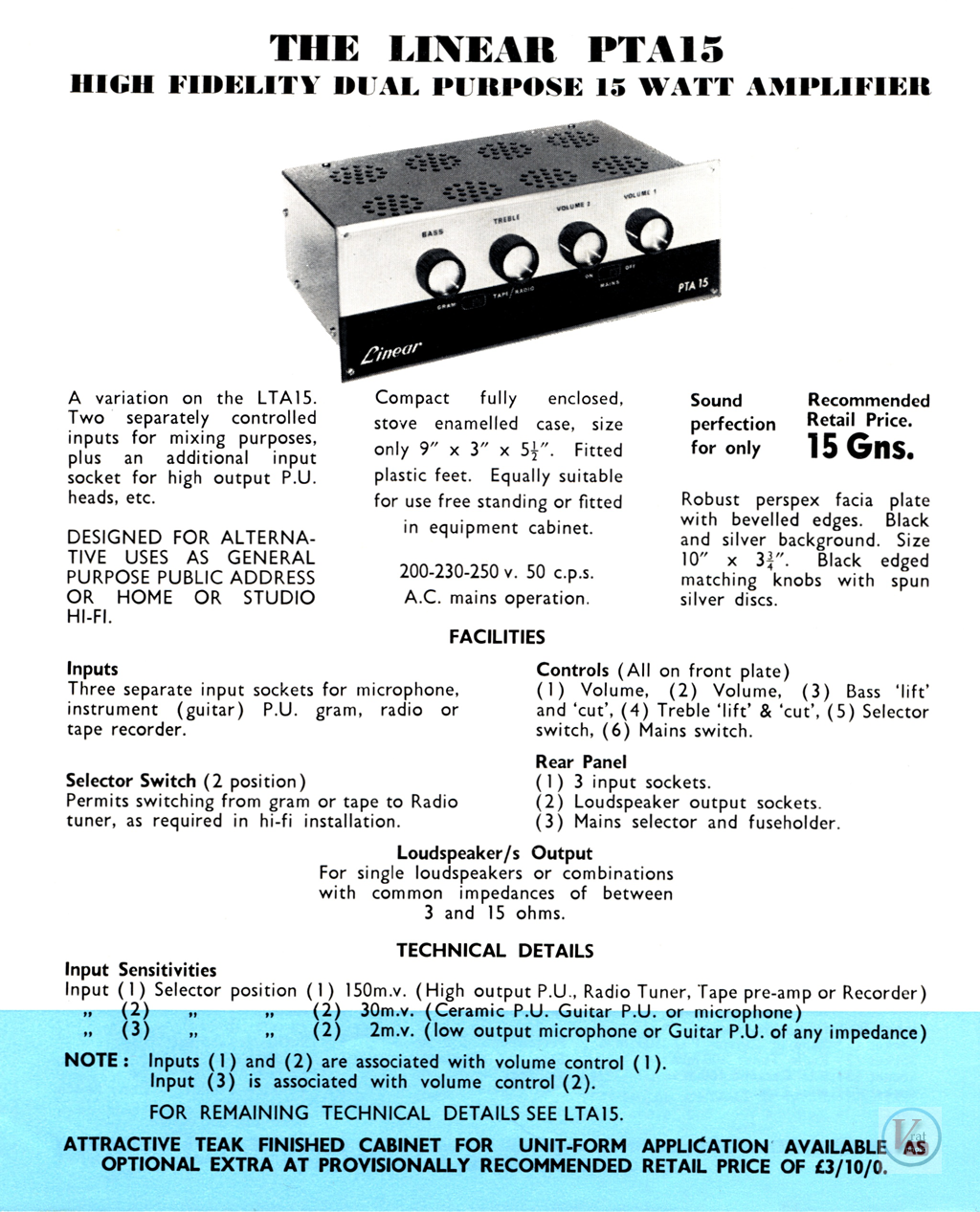 Linear Amplifiers 11