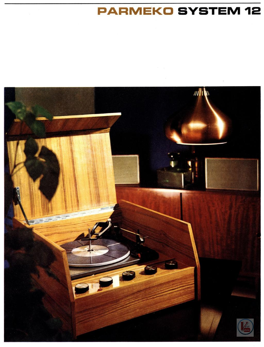 Parmeko Record Player 13