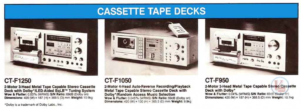 Pioneer Cassette 1