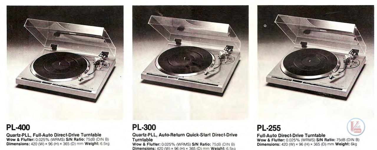 Pioneer Turntables 8