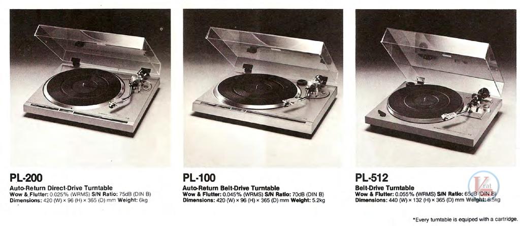 Pioneer Turntables 9