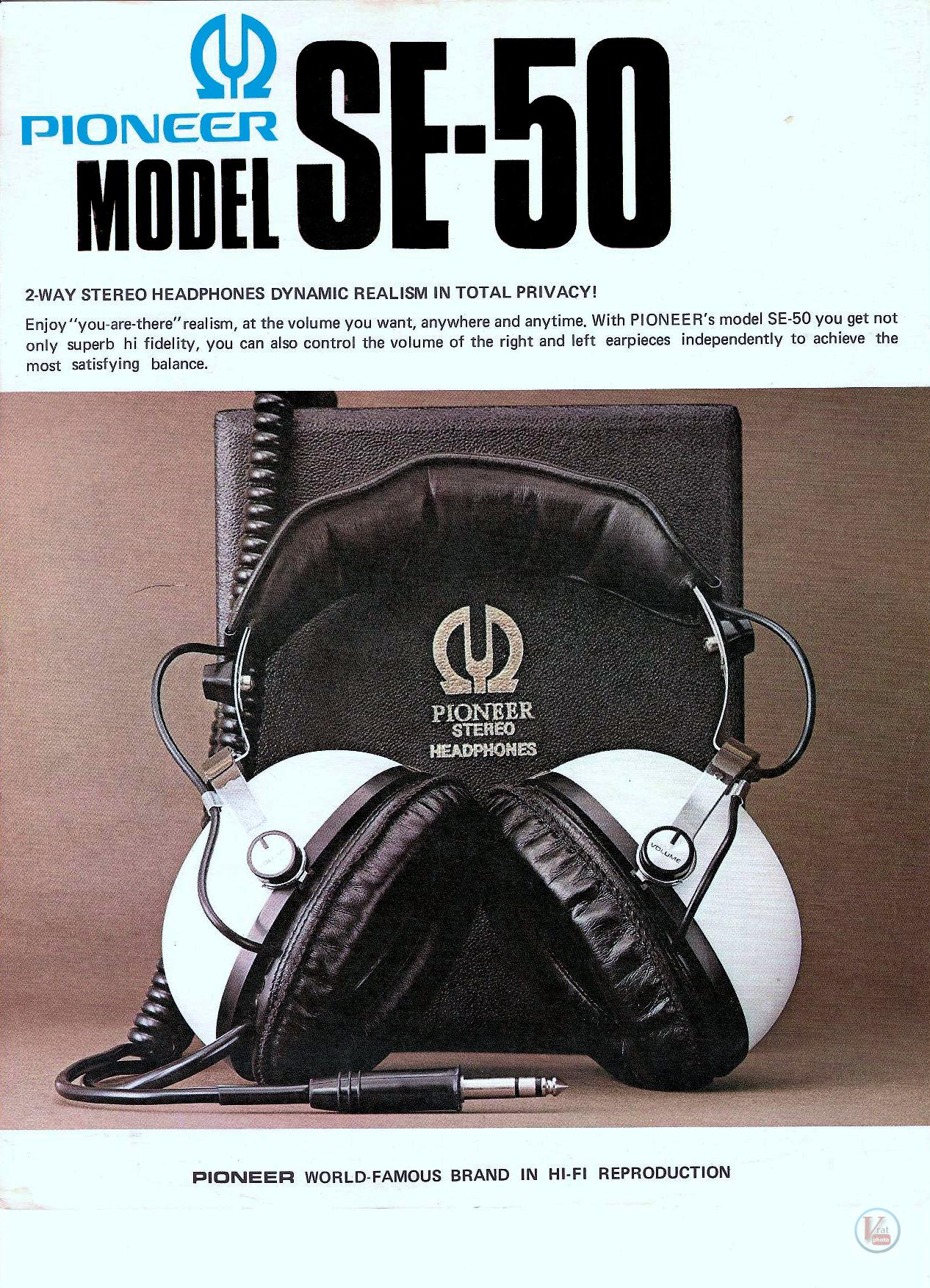 Pioneer Headphones 14