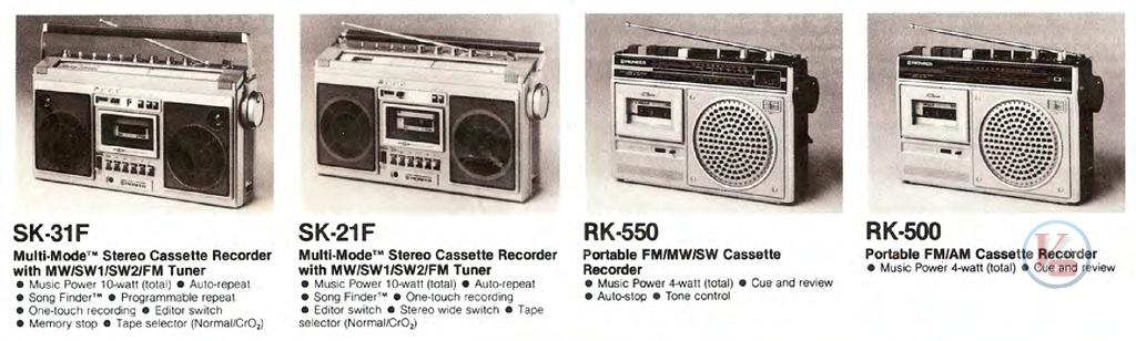 Pioneer Radio Cassette 2