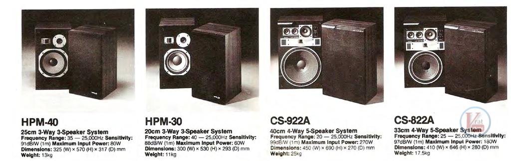 Pioneer Speakers 3