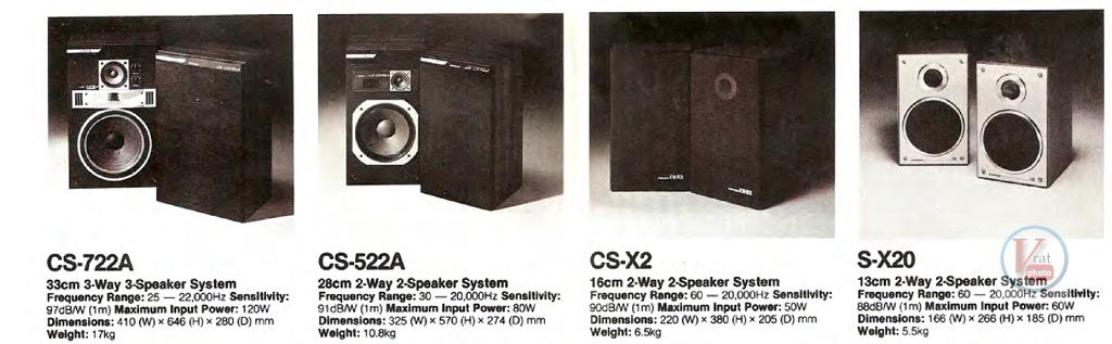 Pioneer Speakers 4