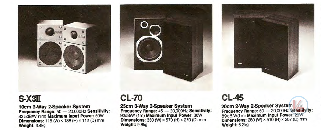 Pioneer Speakers 5