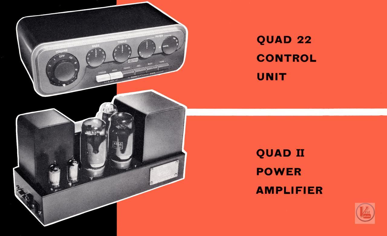 Quad II Amp & 22 CU 53