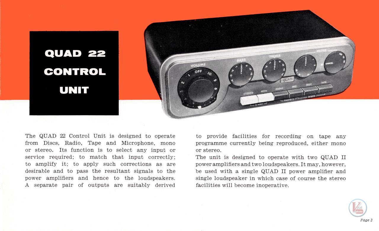 Quad II Amp & 22 CU 56