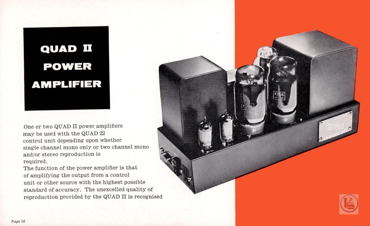 Quad II Amp & 22 CU 69