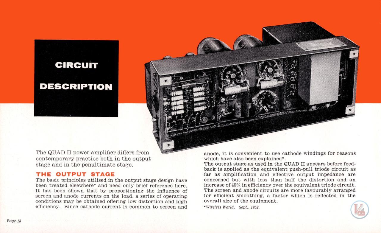 Quad II Amp & 22 CU 71
