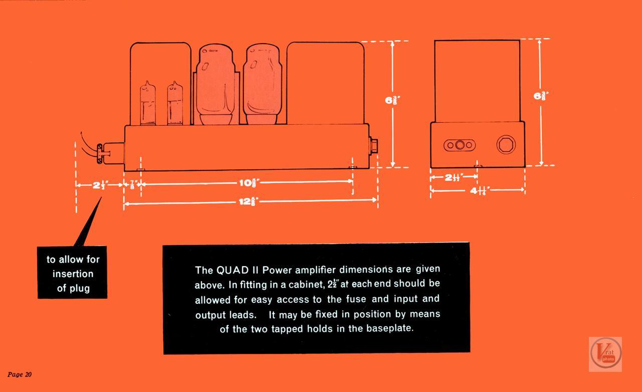 Quad II Amp & 22 CU 73