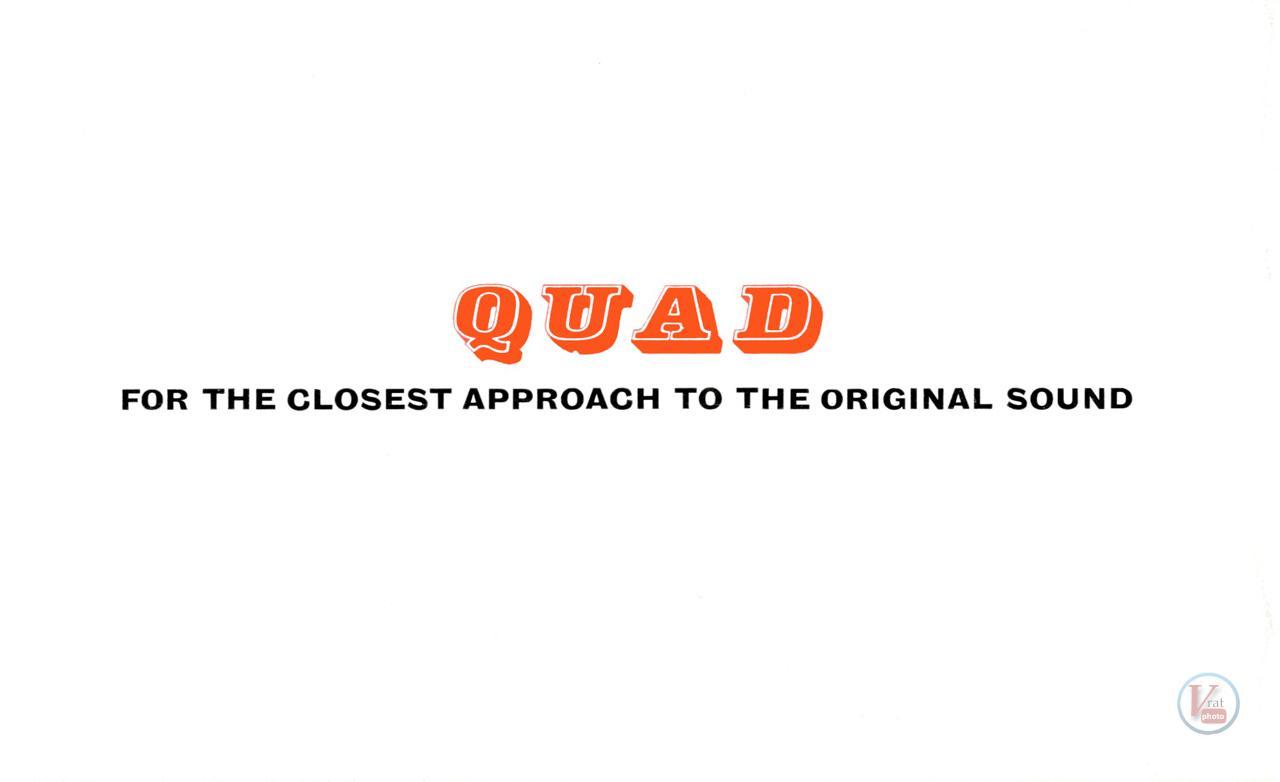 Quad II Amp & 22 CU 104