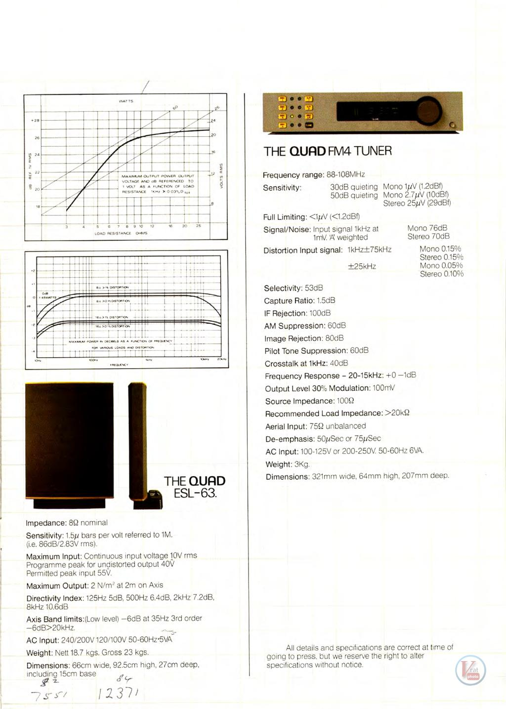 Quad Amplifiers 63