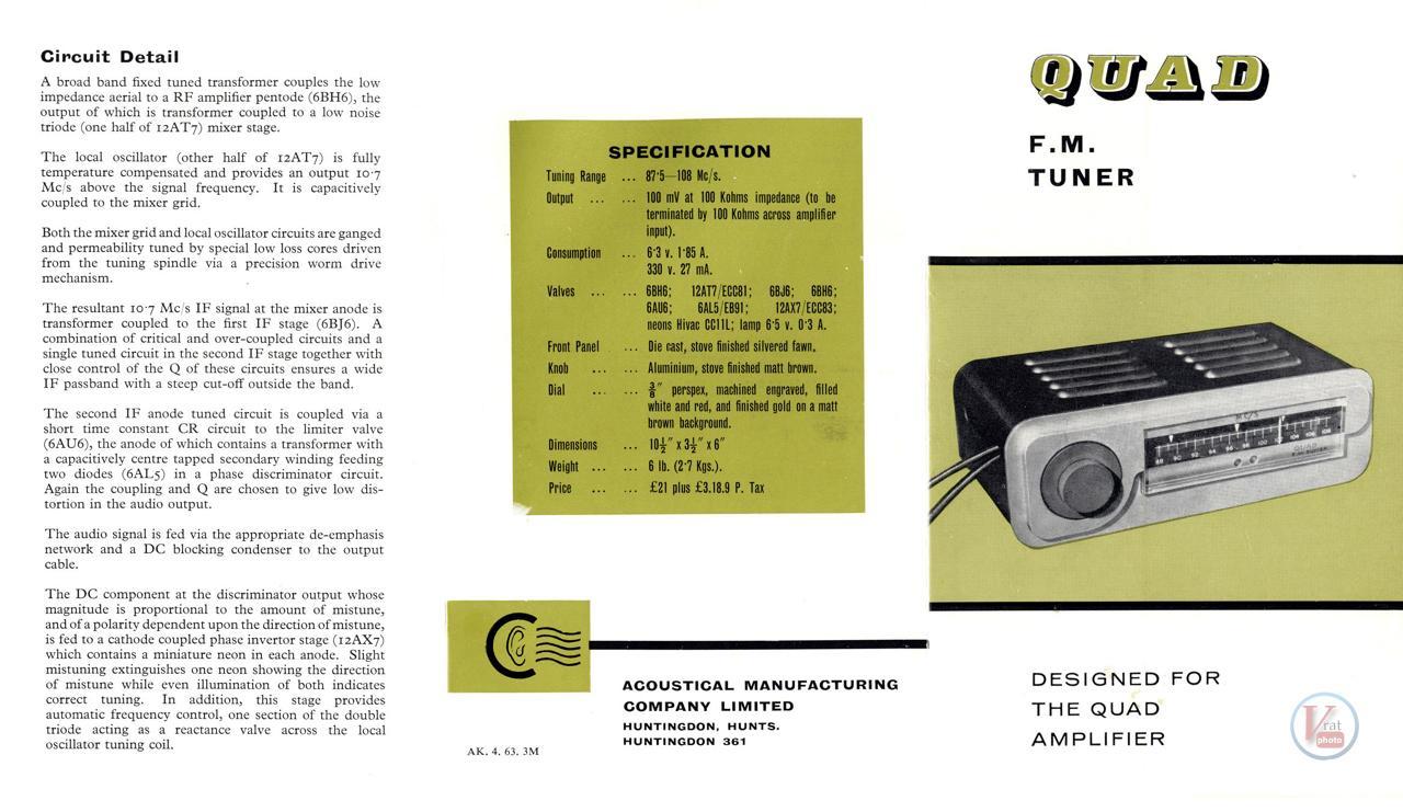 Quad FM1 8