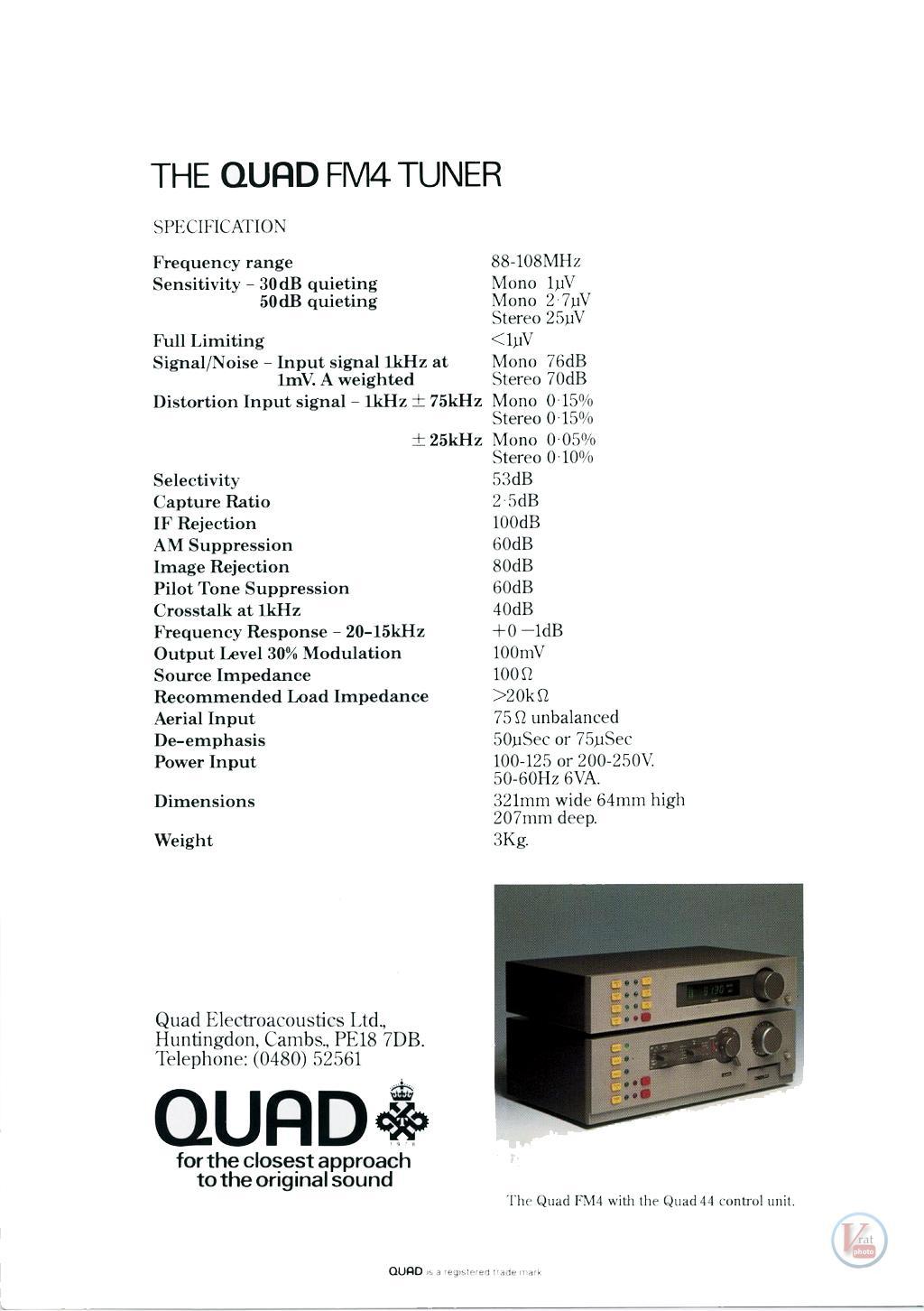Quad FM4 8